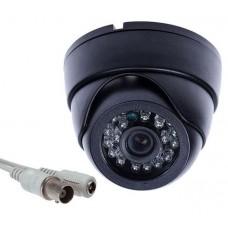 Κάμερα dome οροφής AHD 1.3 megapixel νυχτερινής λήψης με 36 LED