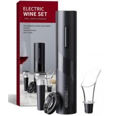 Ηλεκτρικό σετ ανοίγματος κρασιού BY0041