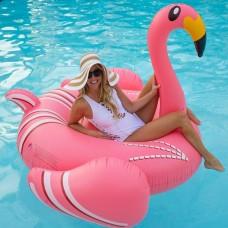 Γιγαντιαίο φουσκωτό στρώμα θαλάσσης Ροζ Φλαμίνγκο