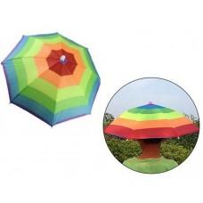 Ομπρέλα - καπέλο πολύχρωμο