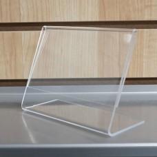 Ακρυλική οριζόντια κορνίζα φωτογραφίας επιτραπέζια 13x18