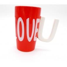 Κεραμική κούπα LOVE U