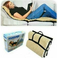 Θερμαινόμενη κουβέρτα/στρώμα μασάζ διπλής όψης