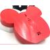 Φως μπαταρίας κεφάλι Μίκυ κόκκινο 8 LED
