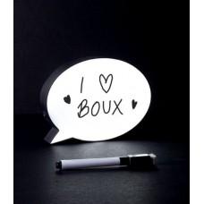 Μίνι πίνακας LED φούσκα ομιλίας
