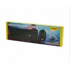 Ασύρματο πληκτρολόγιο και ποντίκι Q-805 ANDOWL Gaming Keyboard