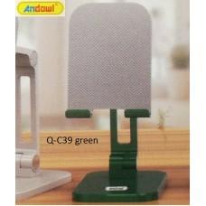 Αναδιπλούμενη επιτραπέζια βάση τηλεφώνου πράσινη Q-C39 ANDOWL