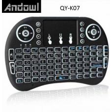 Επαναφορτιζόμενο, ασύρματο πληκτρολόγιο LED QY-K07 ANDOWL
