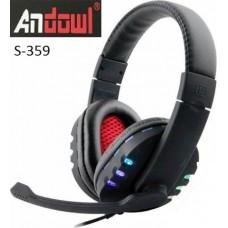 Ενσύρματα ακουστικά κεφαλής gaming S-359 ANDOWL
