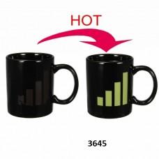 Θερμικά ευαίσθητη κεραμική κούπα Μπάρα Σήματος 3645