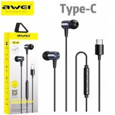 Ακουστικά Handsfree In-Ear Awei TC-2 Type-C