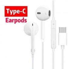 Ακουστικά Handsfree για όλα τα τηλέφωνα με υποδοχή Type C