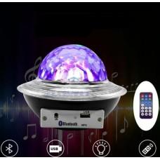 LED UFO Bluetooth μαγική λάμπα με τηλεχειριστήριο 27268