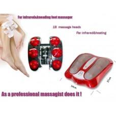 Ισχυρή συσκευή μασάζ Shiatsu ποδιών με θέρμανση υπερύθρων - Far-infrared & kneading foot massager