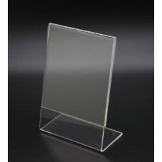 Ακρυλική κάθετη κορνίζα φωτογραφίας επιτραπέζια 15x20