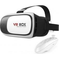"3D γυαλιά εικονικής πραγματικότητας VRBOX για smartphones 4.7""-6"" με ασύρματο Bluetooth χειριστήριο"