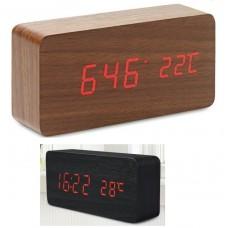 Μεγάλο ξύλινο επιτραπέζιο ρολόι