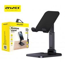 Αναδιπλούμενη επιτραπέζια βάση για τηλέφωνα και tablet AWEI X11 0125